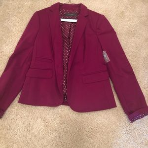 Stunning Plum Colored The Limited Blazer! BNWT